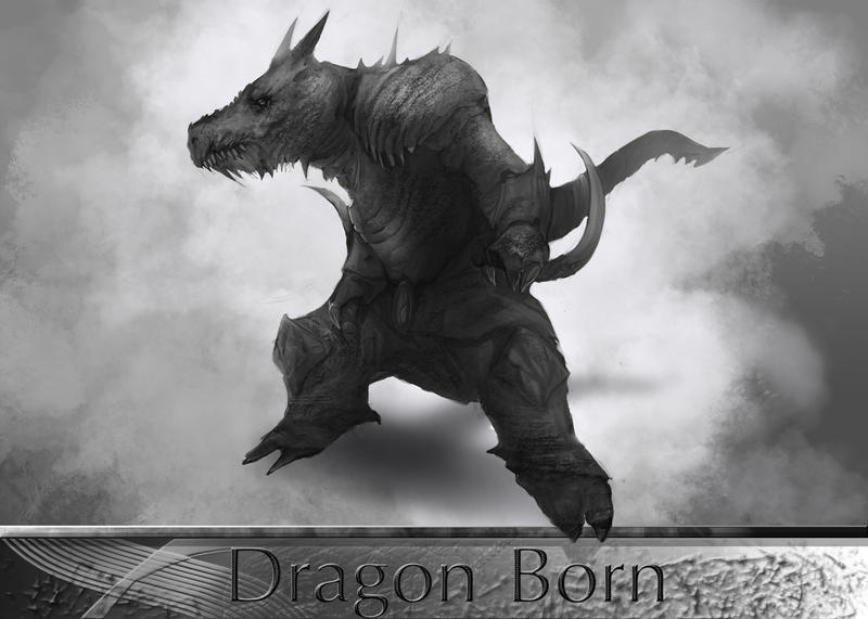 DragonBorn by kainthebest