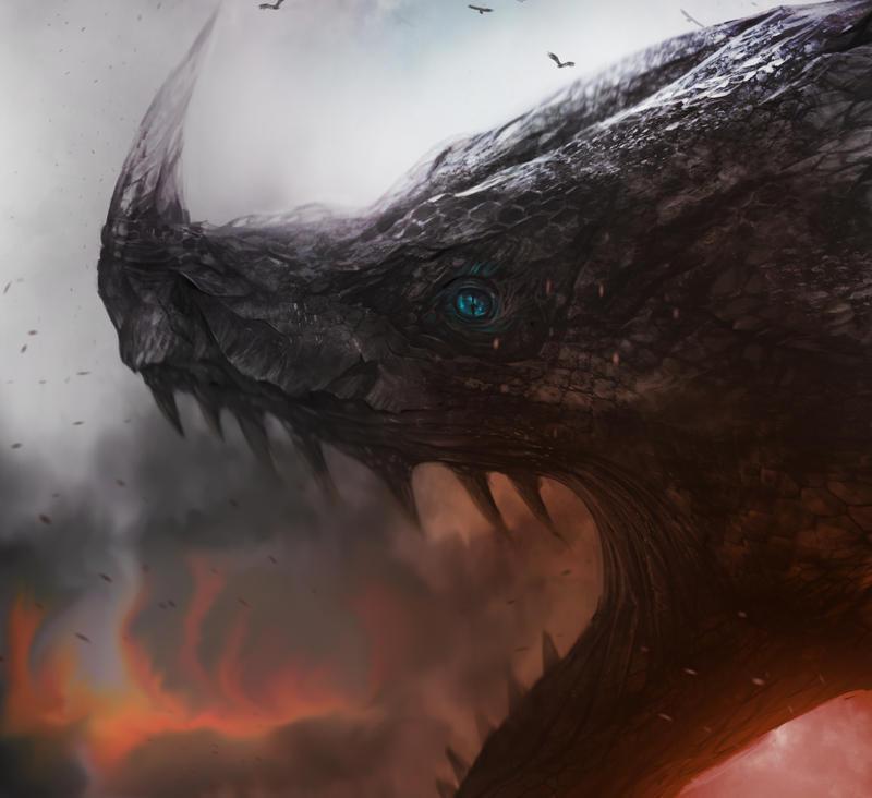 Dragon Gnar Rarw by kainthebest