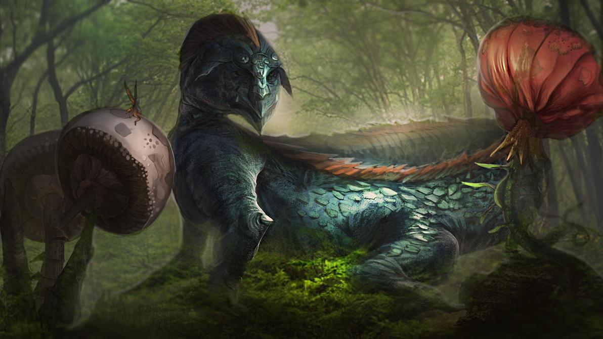Dragon lizard2 by kainthebest