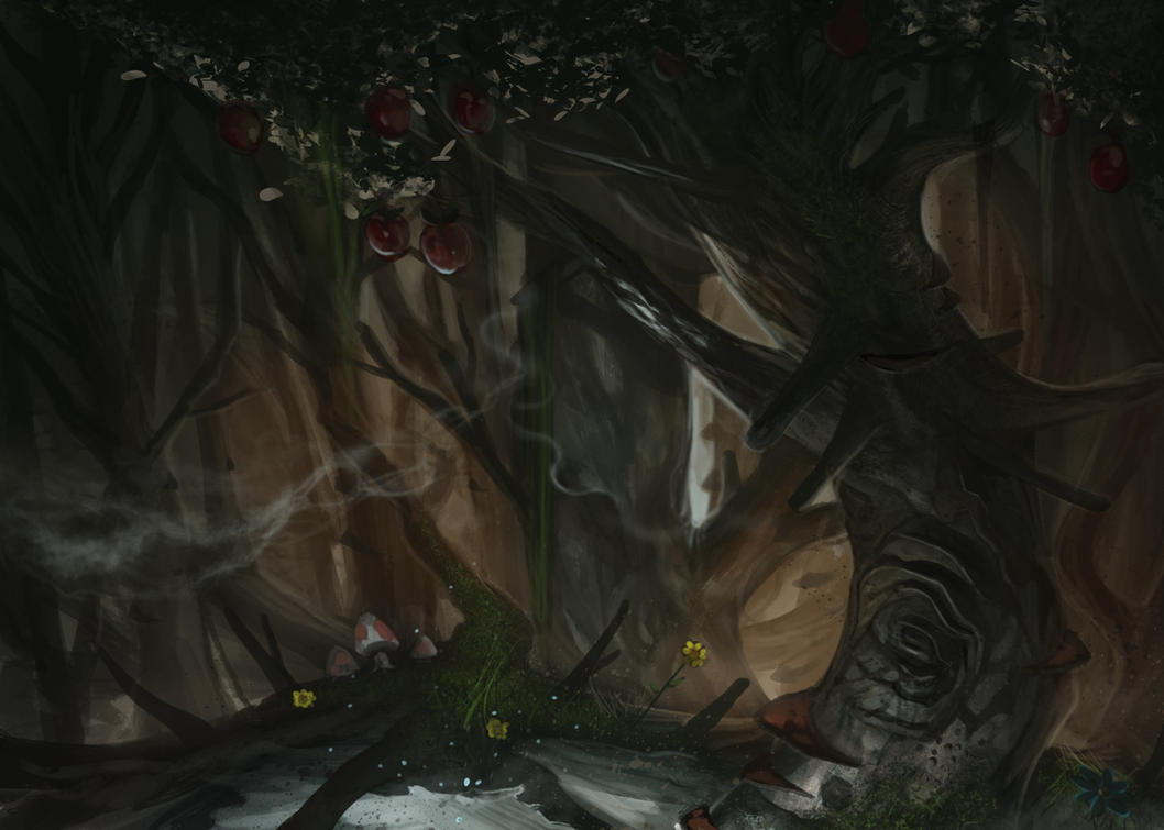 Dancing Treeline by kainthebest