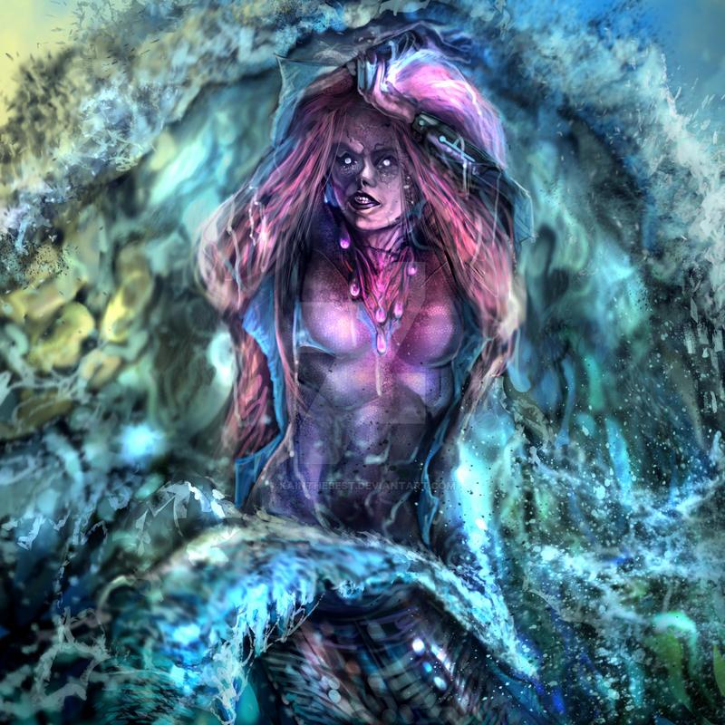 Mermaid3 by kainthebest