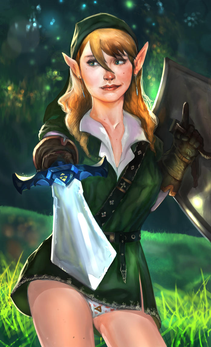 Female Link by kainthebest