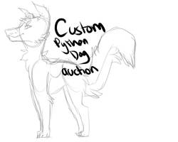 Custom python dog auction by Twiiiig