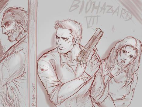 Resident Evil 7 Lazy Sketch