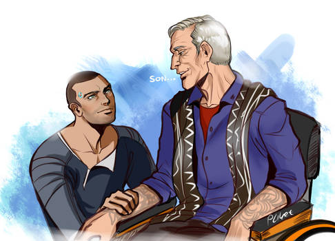 Markus and Carl Detroit Become Human