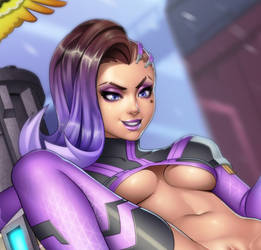 Sombra (cropped) by erotibot