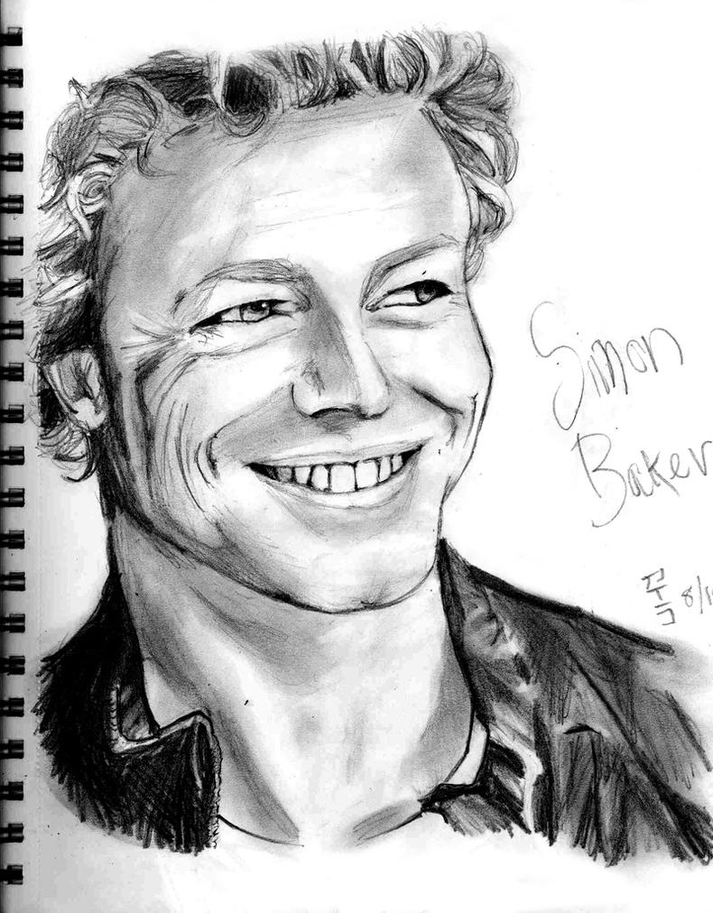 Simon Baker Scar Simon baker by kakai-tan