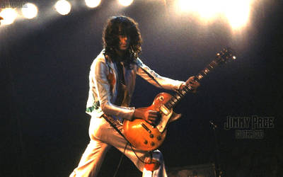 Jimmy Page Widescreen by fenicebianca