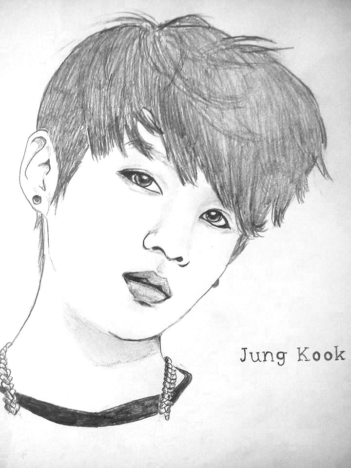 Jungkook Bts Drawings: JungKook By JokoMato On DeviantArt