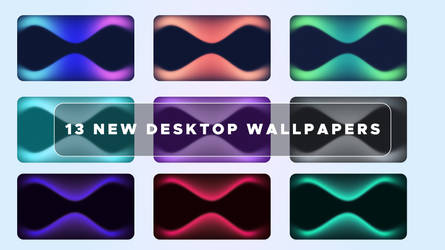 Pack of 13 amazing wallpapers