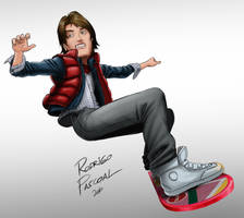 marty mcfly by superpascoal