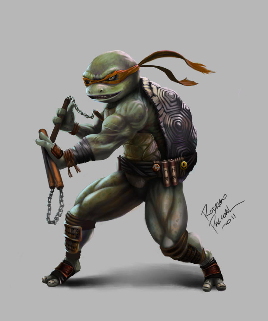 michelangelo by superpascoal