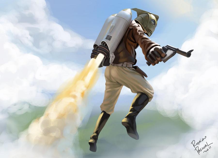 Rocketeer by superpascoal