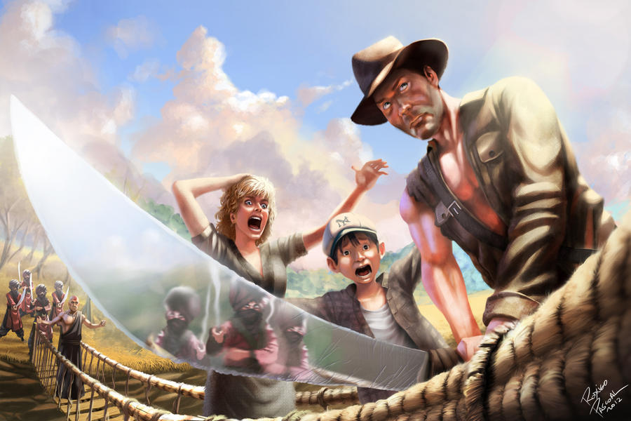 Indiana Jones by superpascoal
