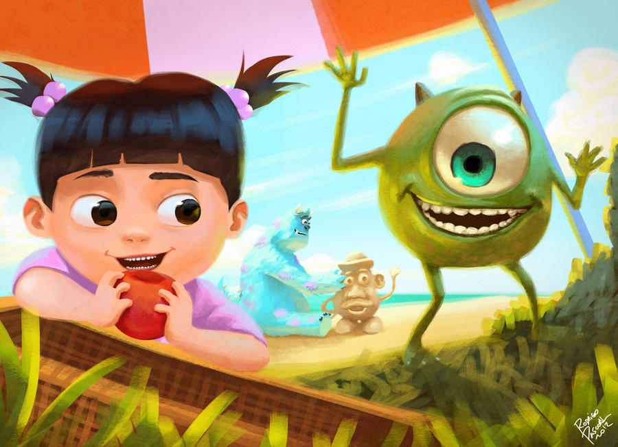 Monsters Inc by superpascoal