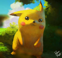 Pikachu by superpascoal