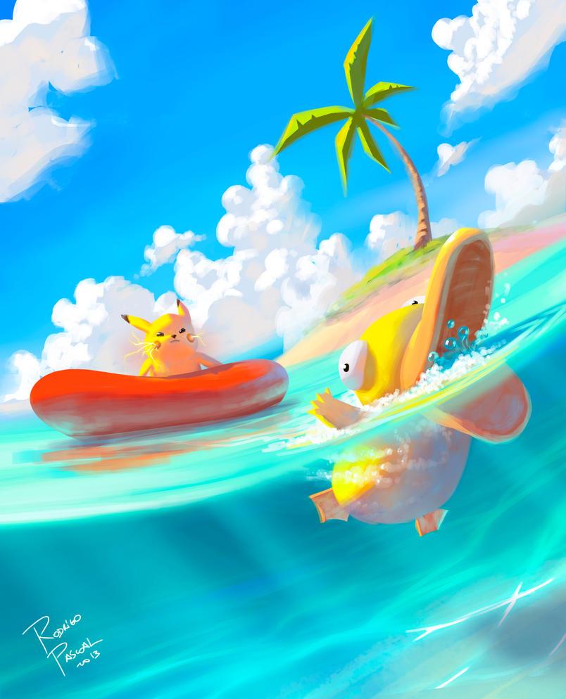 Pokemon Beach! By Superpascoal On DeviantArt