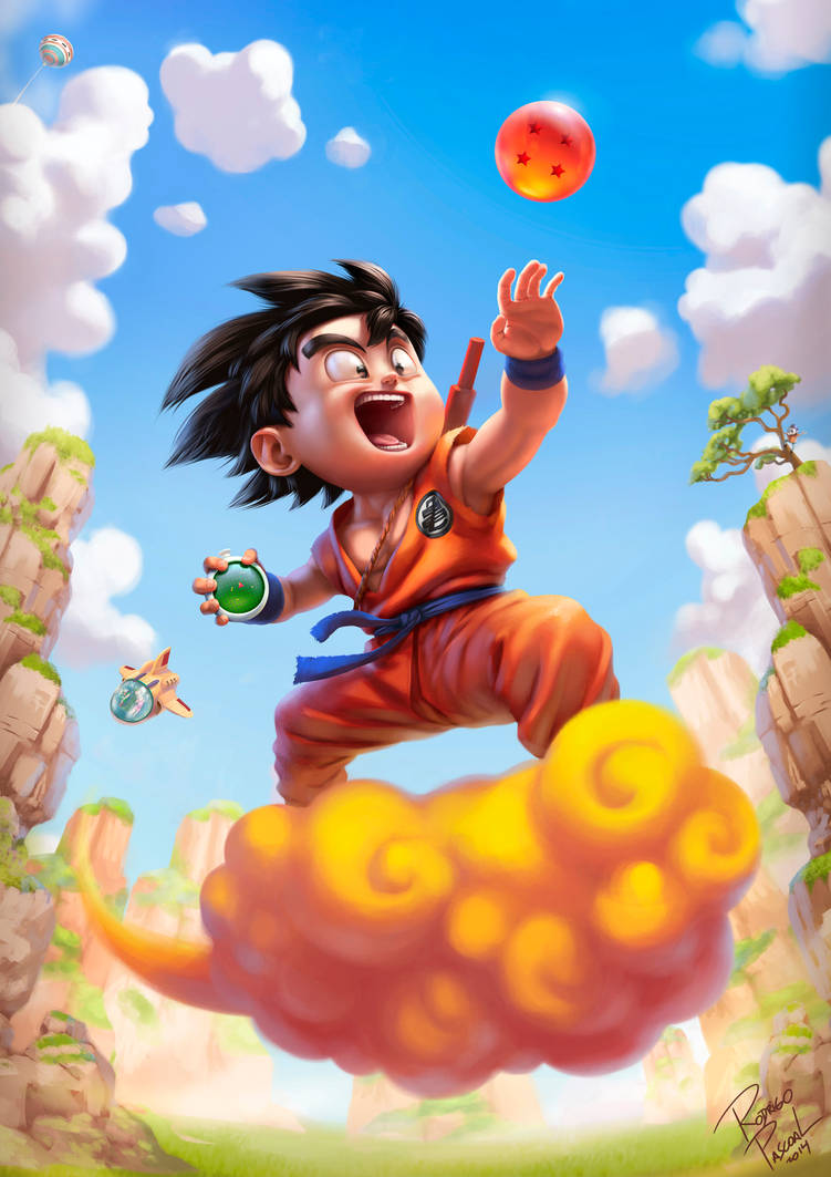 Son Goku by superpascoal