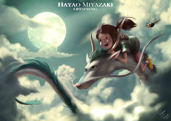 Spirited Away (Chihiro) by superpascoal