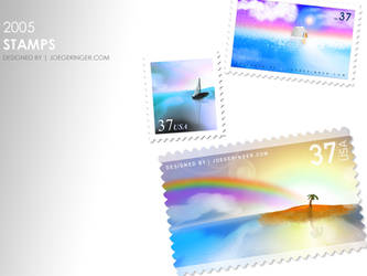 Nature Stamps by djgeringer