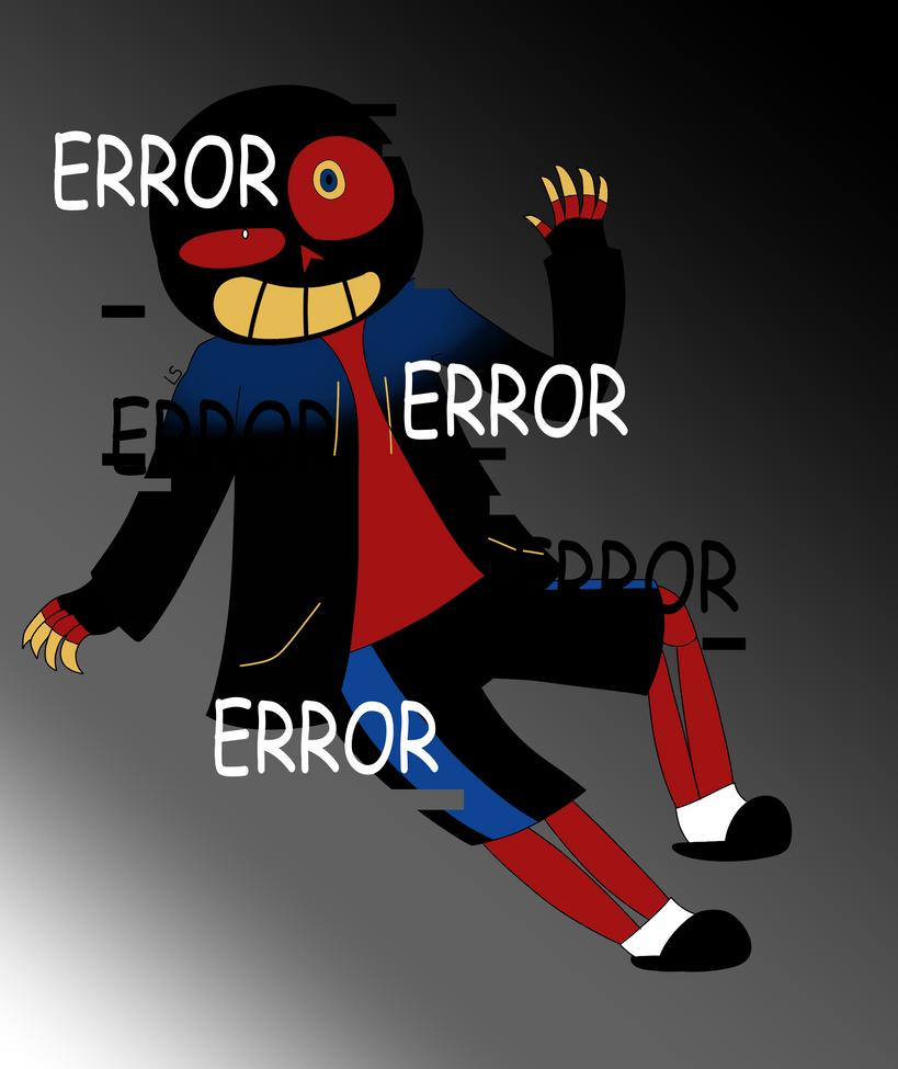Error!Sans By LSTheNinjaKitten On DeviantArt