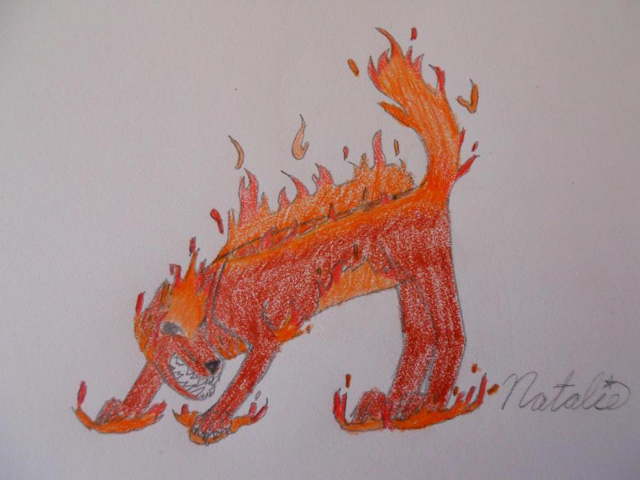 Element Fire Wolf by AwesomeDangerWolf on DeviantArt