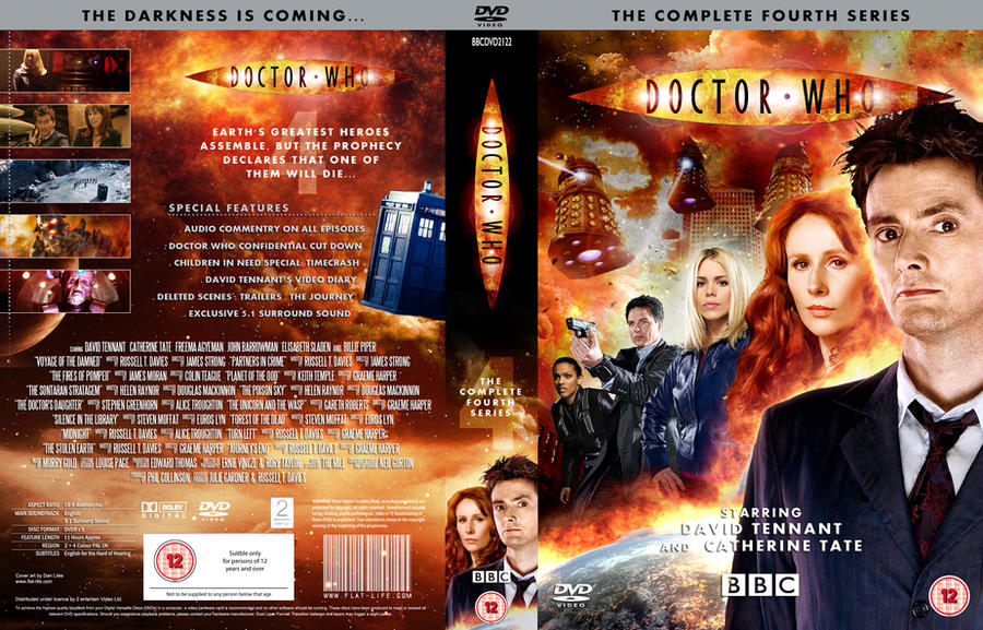 DOCTOR WHO SERIES 4 DVD COVER by MrPacinoHead on DeviantArt