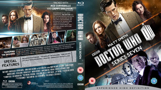 DOCTOR WHO SERIES 7 BLU-RAY COVER (w.i.p.) by MrPacinoHead