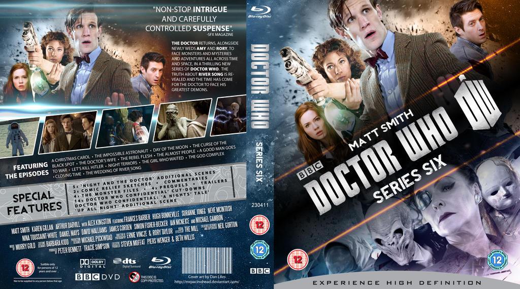 Doctor Who Season 6 Dvd Doctor who season 32/series 6