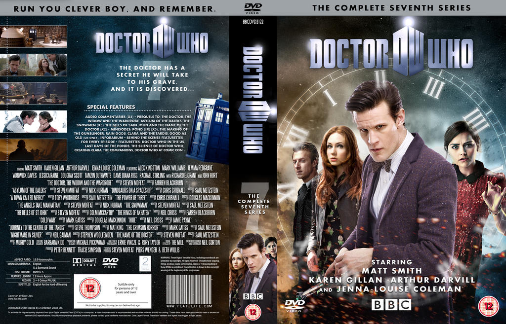 Doctor Who Series 7b Dvd Cover Updated By Mrpacinohead