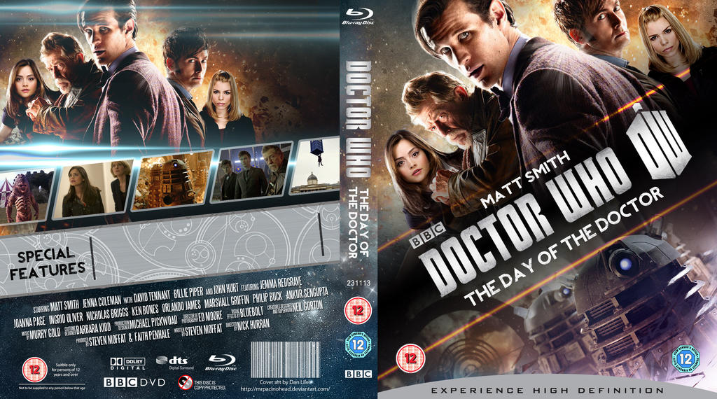 doctor who 50th anniversary blu ray collection