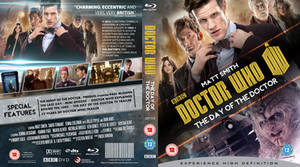 DOCTOR WHO : DAY OF THE DOCTOR (GOLD) BLU-RAY by MrPacinoHead