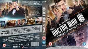 DOCTOR WHO : DAY OF THE DOCTOR BLU-RAY by MrPacinoHead