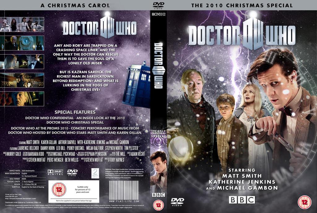 DOCTOR WHO : A CHRISTMAS CAROL DVD by MrPacinoHead on DeviantArt