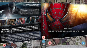 Spider-man 3 Blu-Ray cover