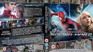 The Amazing Spider-man 2 Blu-Ray cover