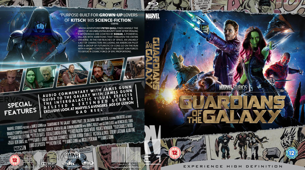 Guardians of the galaxy blu ray fixed by mrpacinohead on deviantart