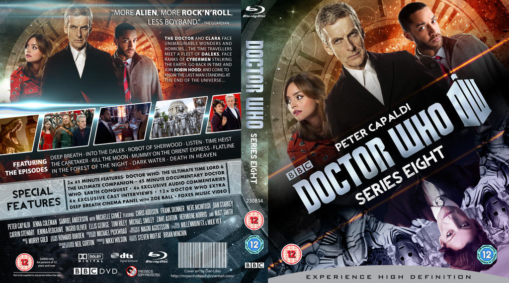 DOCTOR WHO SERIES 8 BLU RAY COVER By MrPacinoHead On