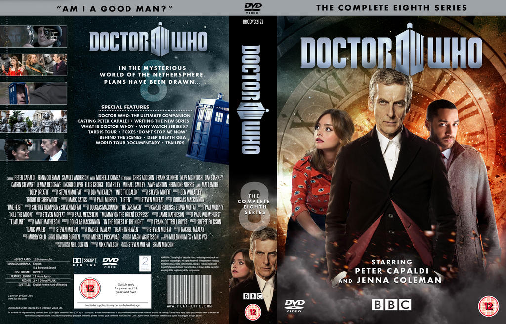 Doctor Who Series 8 Dvd Cover By Mrpacinohead On Deviantart