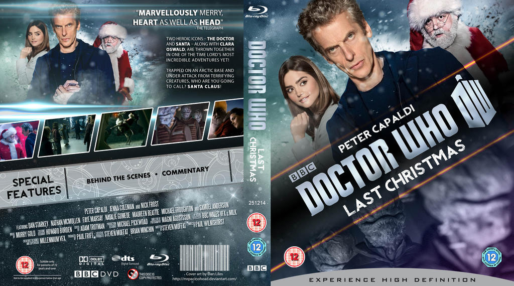 Doctor Who Last Christmas.Doctor Who Last Christmas Blu Ray By Mrpacinohead On