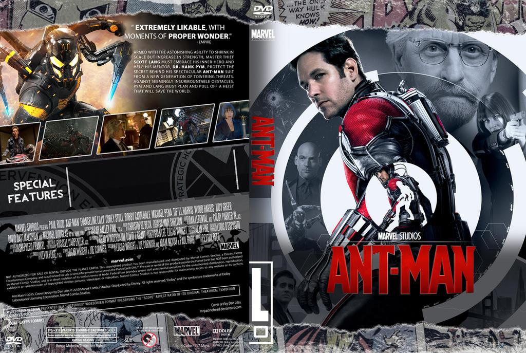 Ant-man DVD by MrPacinoHead