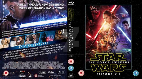 STAR WARS EPISODE 7 - Blu Ray by MrPacinoHead