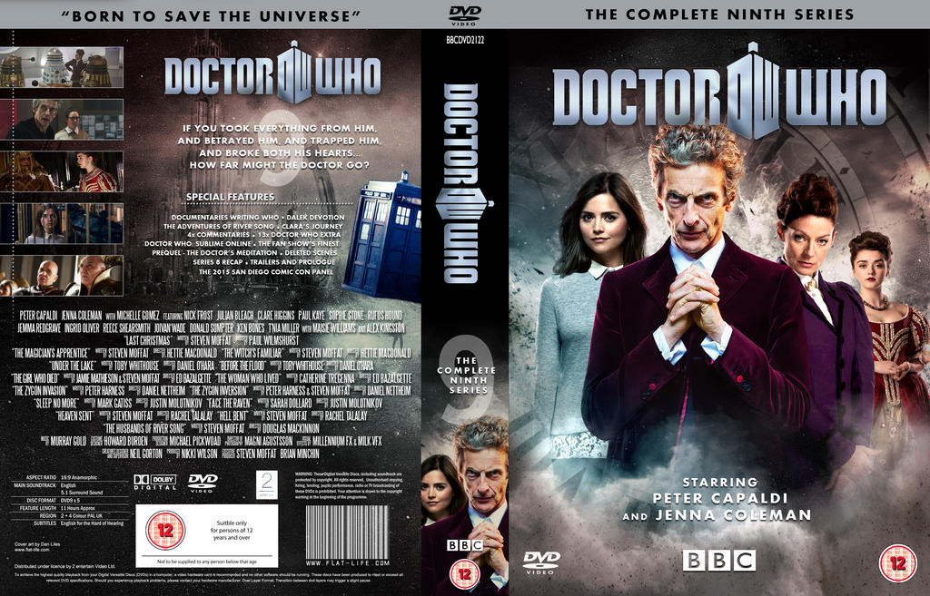 DOCTOR WHO SERIES 9 DVD COVER by MrPacinoHead on DeviantArt