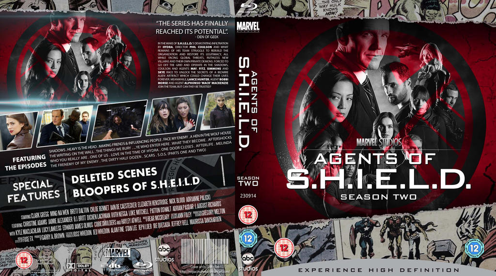 agents of shield staffel 2 deutsch dvd