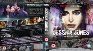 Jessica Jones season one Blu-Ray by MrPacinoHead