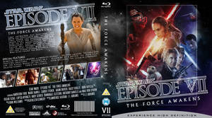STAR WARS Episode VII Blu-ray cover