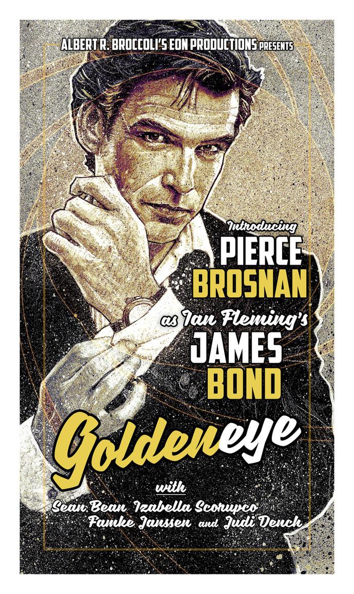 JamesBond -  Goldeneye by MrPacinoHead
