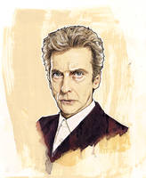 PETER CAPALDI 12TH DOCTOR by MrPacinoHead