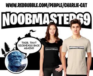 Noobmaster69 T Shirt by MrPacinoHead