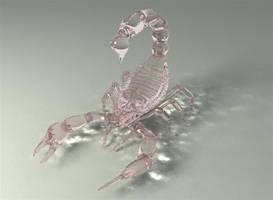 scorpion glass by tiamatcry
